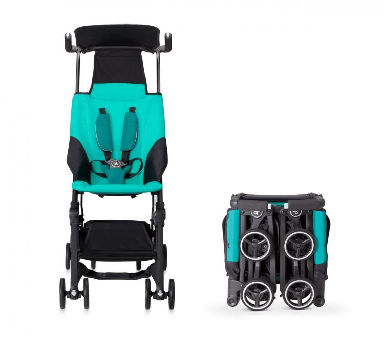Compact Stroller Backpack This Baby Stroller Folds Down To Fit Into A Backpack Or