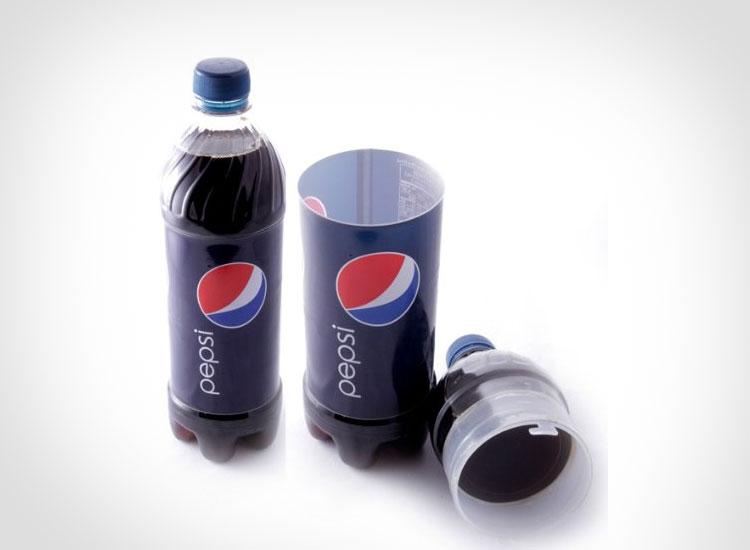 Pepsi Bottle Secret Stash Safe
