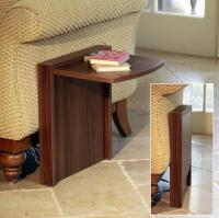 The Tuc-Away Table is a Side Table That Flips Up When You ...