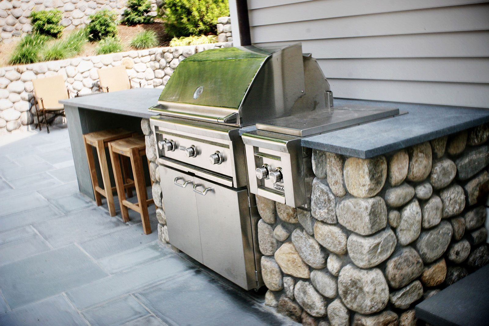 Are Soapstone Countertops Durable Outdoor Kitchens In Connecticut Outdoor Living Space