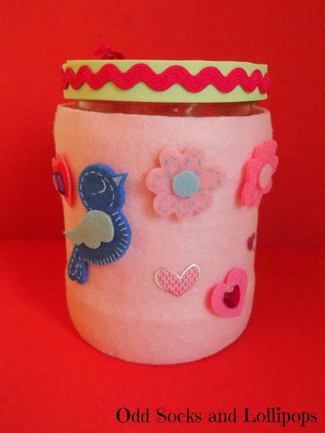 Valentine's Sweetie Jar Step 6