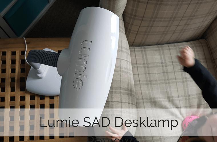 Lumie SAD Desklamp Review - what we thought