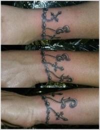 20 Unique Bracelet Tattoo Designs....