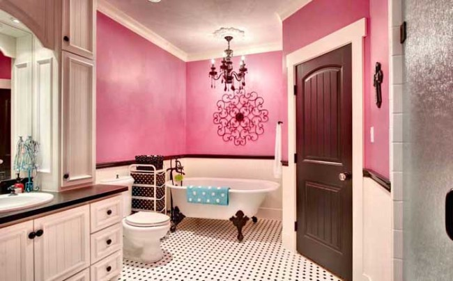 Pretty Girl Cartoon Wallpaper 20 Amazing Color Schemes For Bathroom Interiors