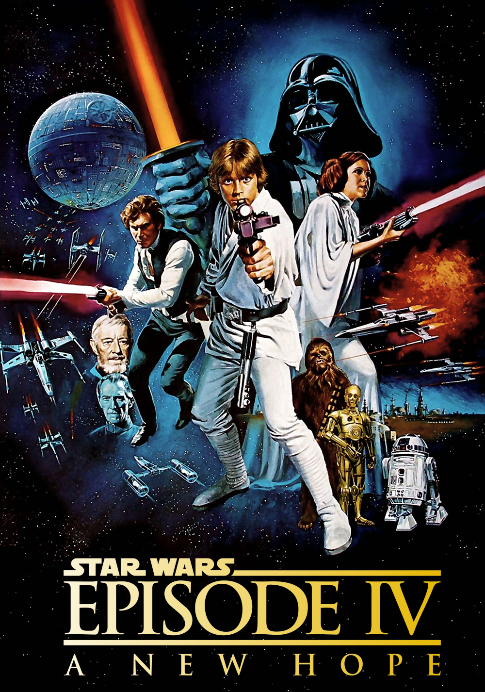 resume star wars episode 4