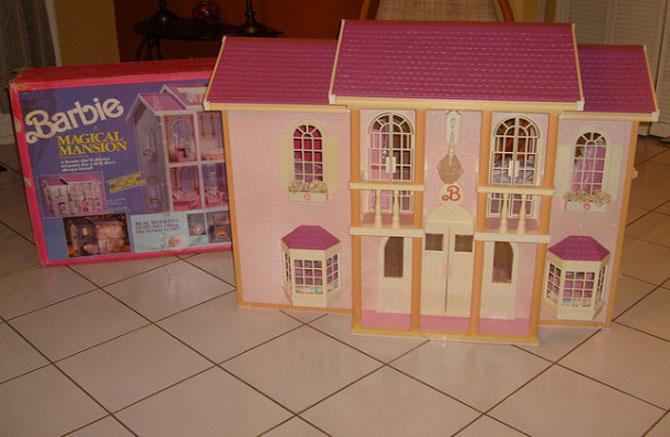 casa da barbie 1990 bonecas