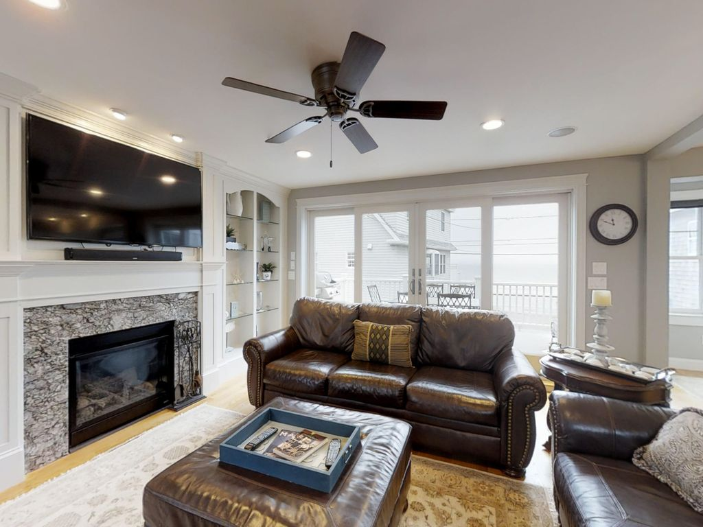 Upscale Ceiling Fan Upscale Home With Beautiful Ocean Views Across Street From The Beach York Beach