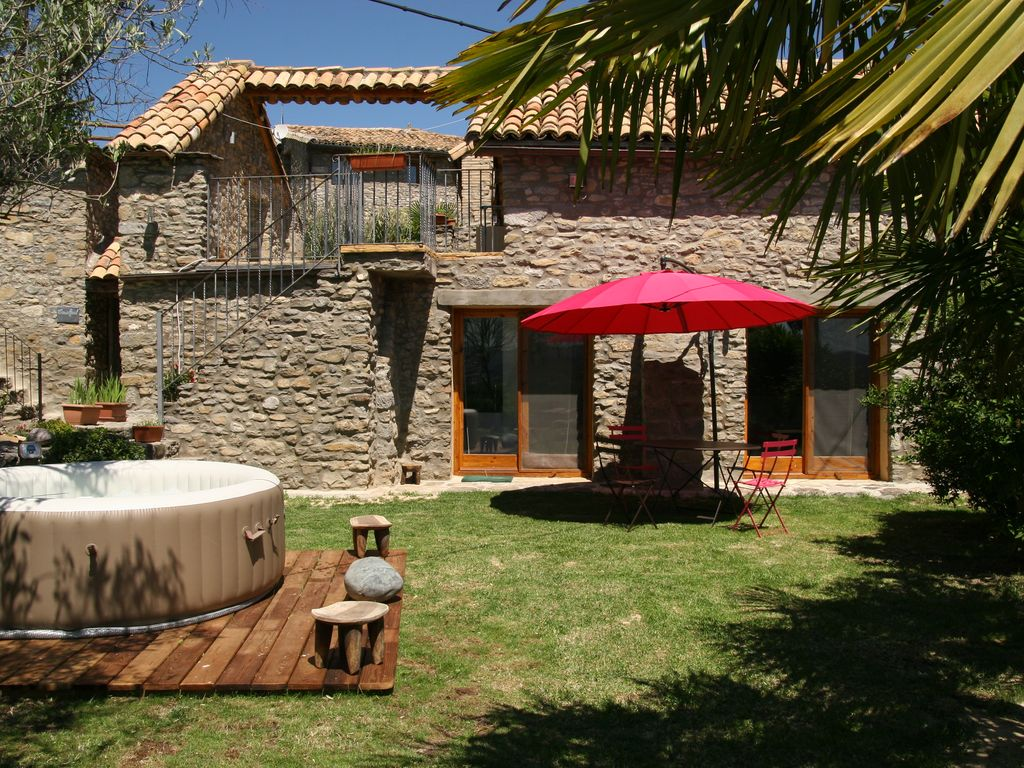 Spa Exterieur Pyrenees Large Apartment With Private Garden And Spa 15 Minutes From Ainsa Aragon Vrbo