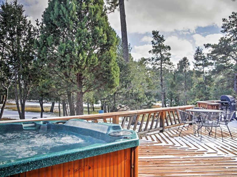 Large Of Hot Tub Deck
