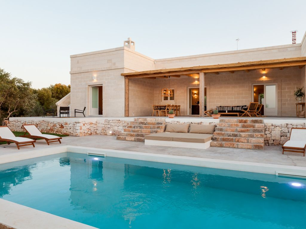 Exklusive Loungemöbel Luxury Villa With Sea View Private Salt Water Pool Pizza Oven Wifi Concierge Ostuni