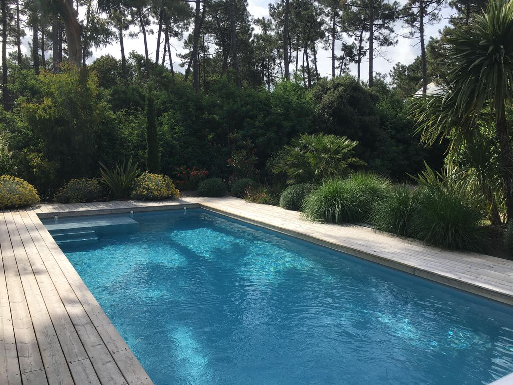 Wärmepumpe Pool Heat 30 Villa For 10 Persons With Heated Swimming Pool 10 By 4 Among The Pines Soulac Sur Mer