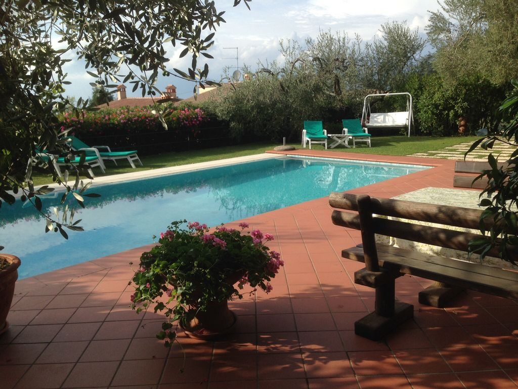 Ferienhaus Gardasee Mit Pool Privat Villa Semi Detached House With Pool Private Garden Overlooking The Lake Torri Del Benaco