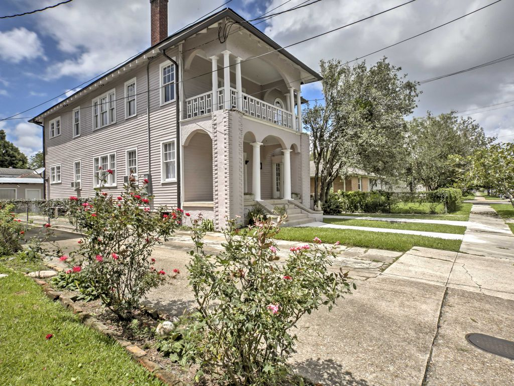 Sessel Nola Geräumige New Orleans Apt W Veranda In River Bend Homeaway