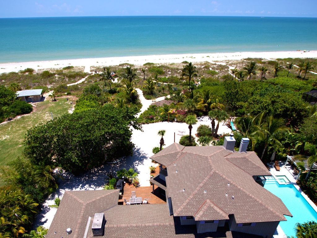 Vrbo Private Resort On The Beach In The Sand Family Friendly Events Pool Spa Captiva