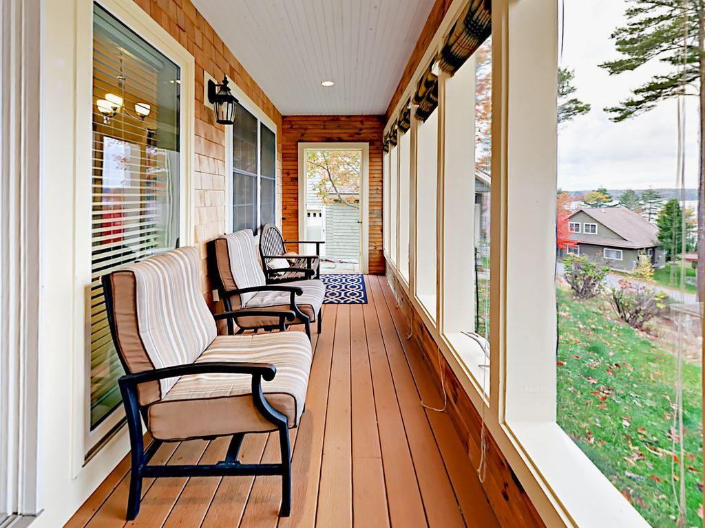 Ausziehbett Thomas Charmante Davis Island 3br W Water Views Screened Veranda Walk Nach Wiscasset Edgecomb