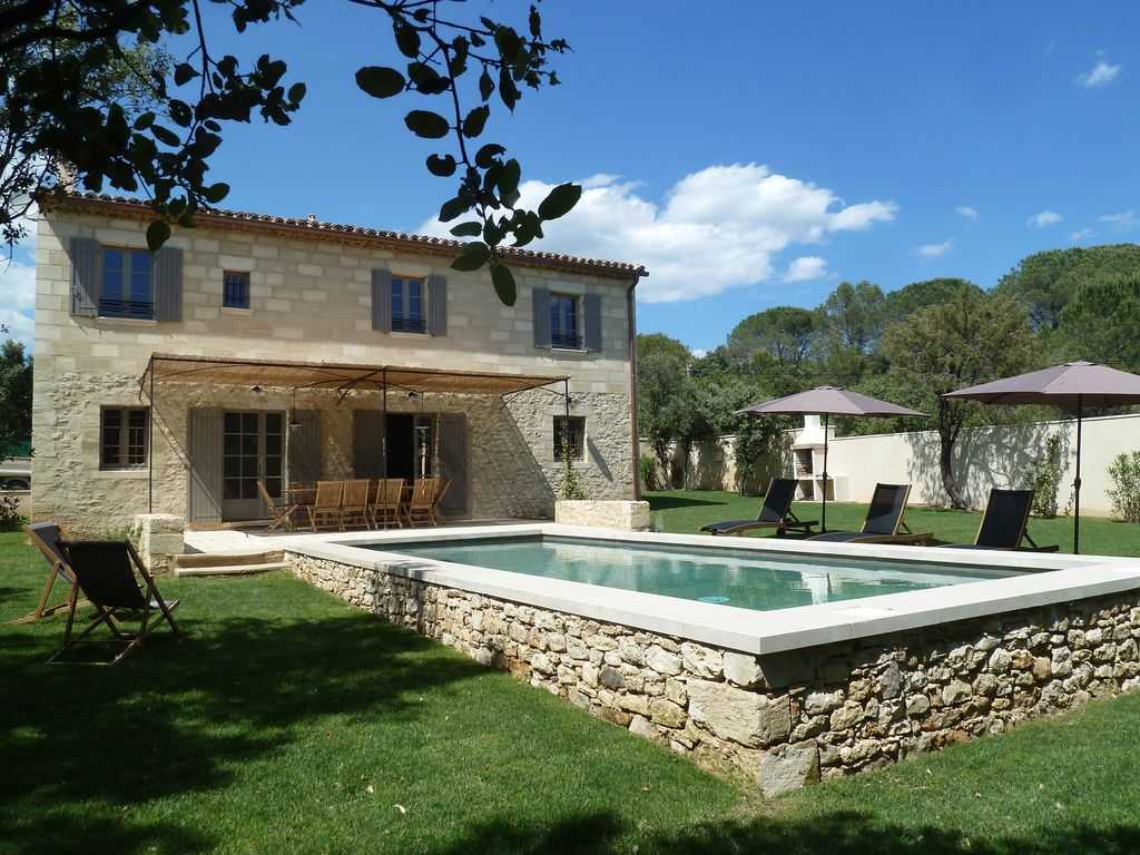 Maison De Vacances En Provence House Full Of Character With A Pool In Uzès Provence Uzès