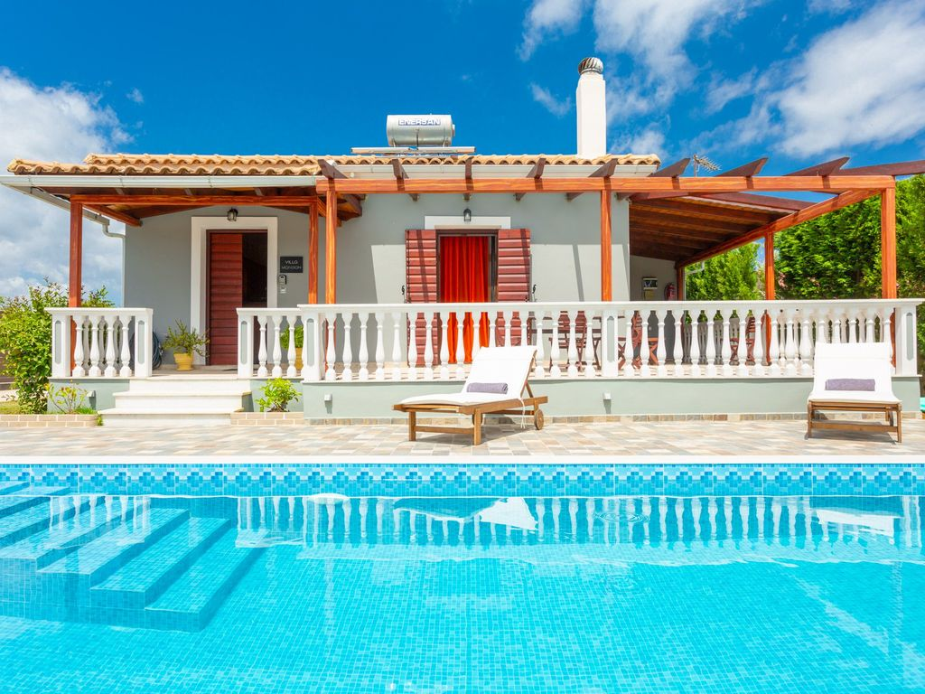 Ferienhaus Mit Pool Zakynthos Villa Mansion Grosser Privater Pool A C Wifi Tragakion