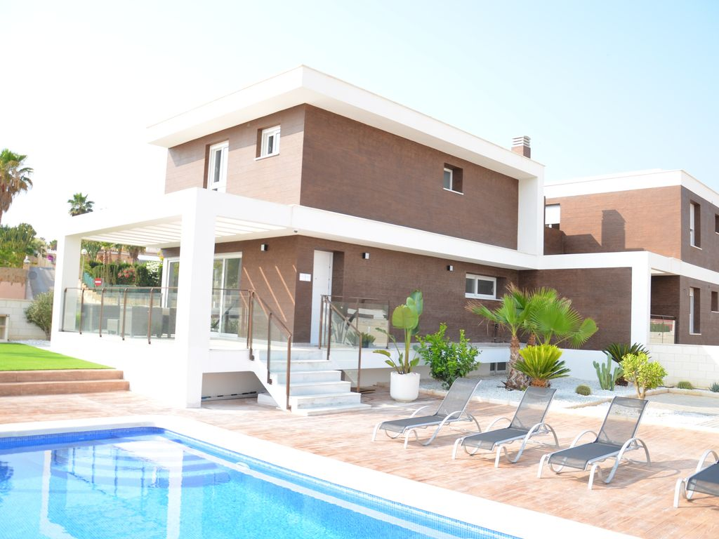 Luxury Holiday Villa With Pool Luxury Holiday Villa Swimming Pool Wi Fi 16 Pp Golf Airconditioning Beach Santa Pola