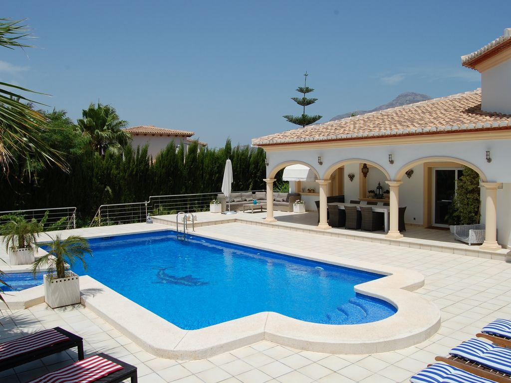 Luxury Holiday Villa With Pool Luxury Holiday Villa With Large Salt Water Pool Jacuzzi Aircon Wifi Led Tv Jávea