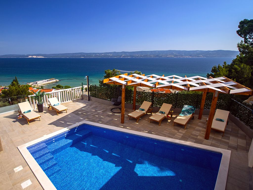 Cash Pool Unternehmen Villa Bakota Only 200m From The Sandy Beaches Private 28m2 Pool Omiš