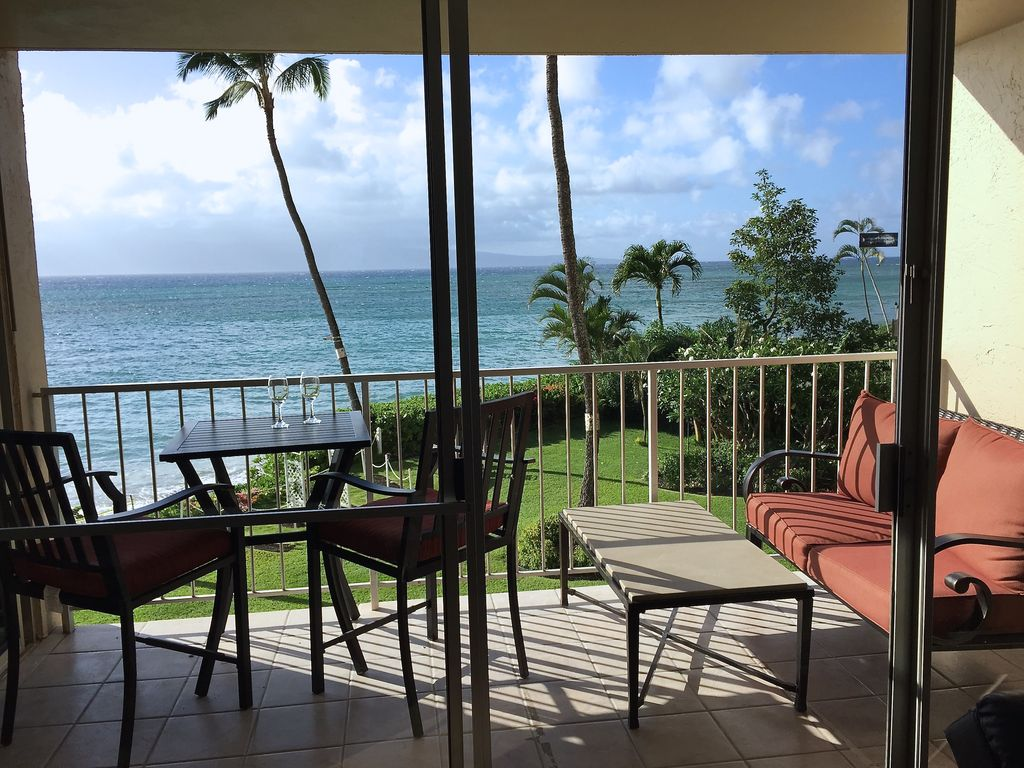 Ferienhaus Maui 5 Star Upgrade Remodeled 1 Br Oceanfront Sleeps 6