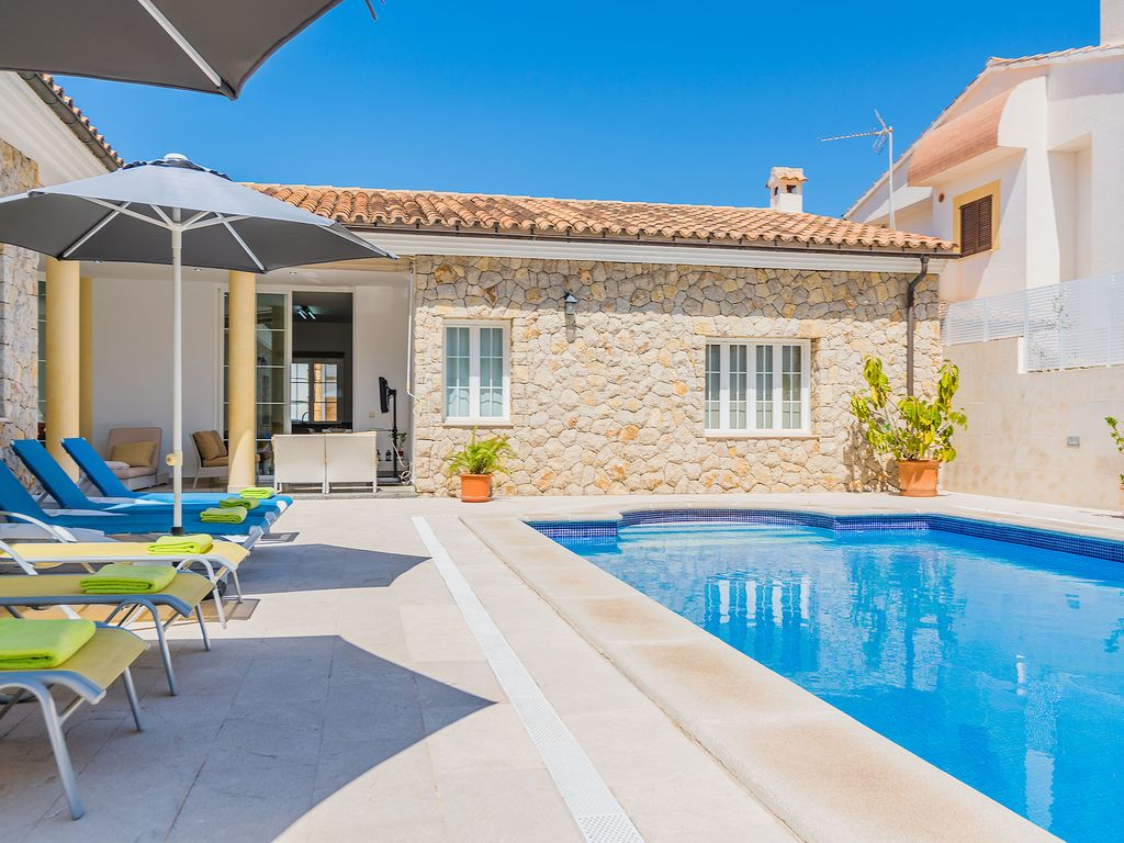 Piscina Chalet Chalet Colonia Sant Pere Con Piscina A 200 Metros Chalet For 6 People In Colonia De Sant Pere Colonia De Sant Pere