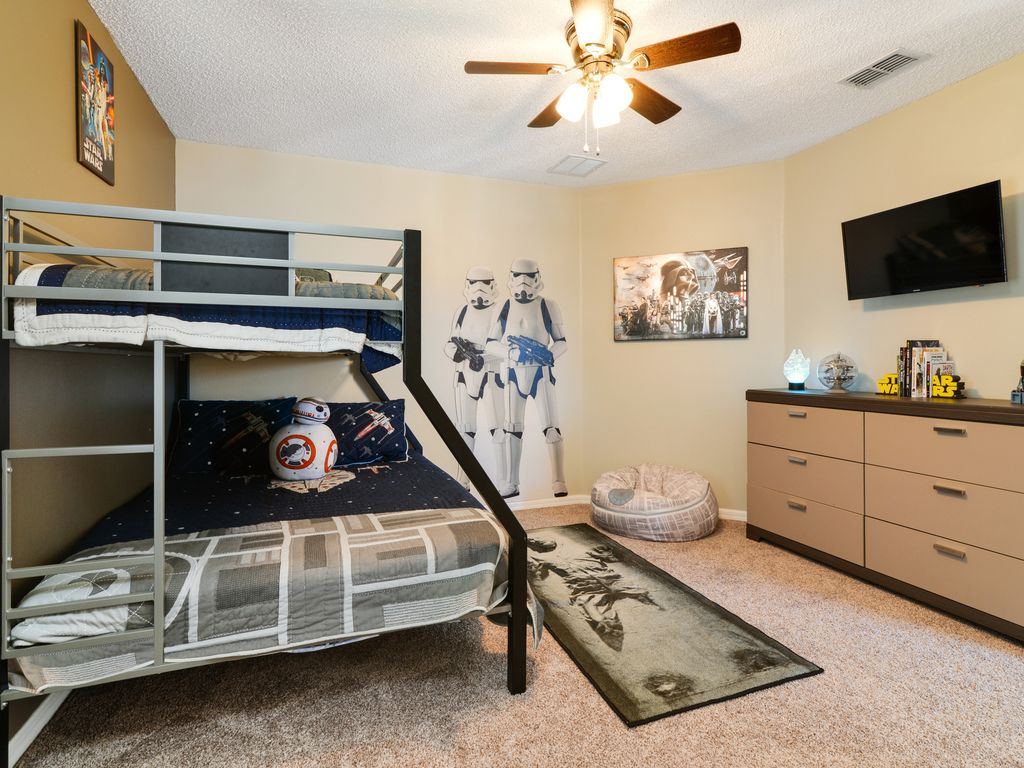 Harry Potter Wohnzimmer Süd Pool Mit Spa Gated Community Harry Potter Und Star Wars Zimmer Kissimmee