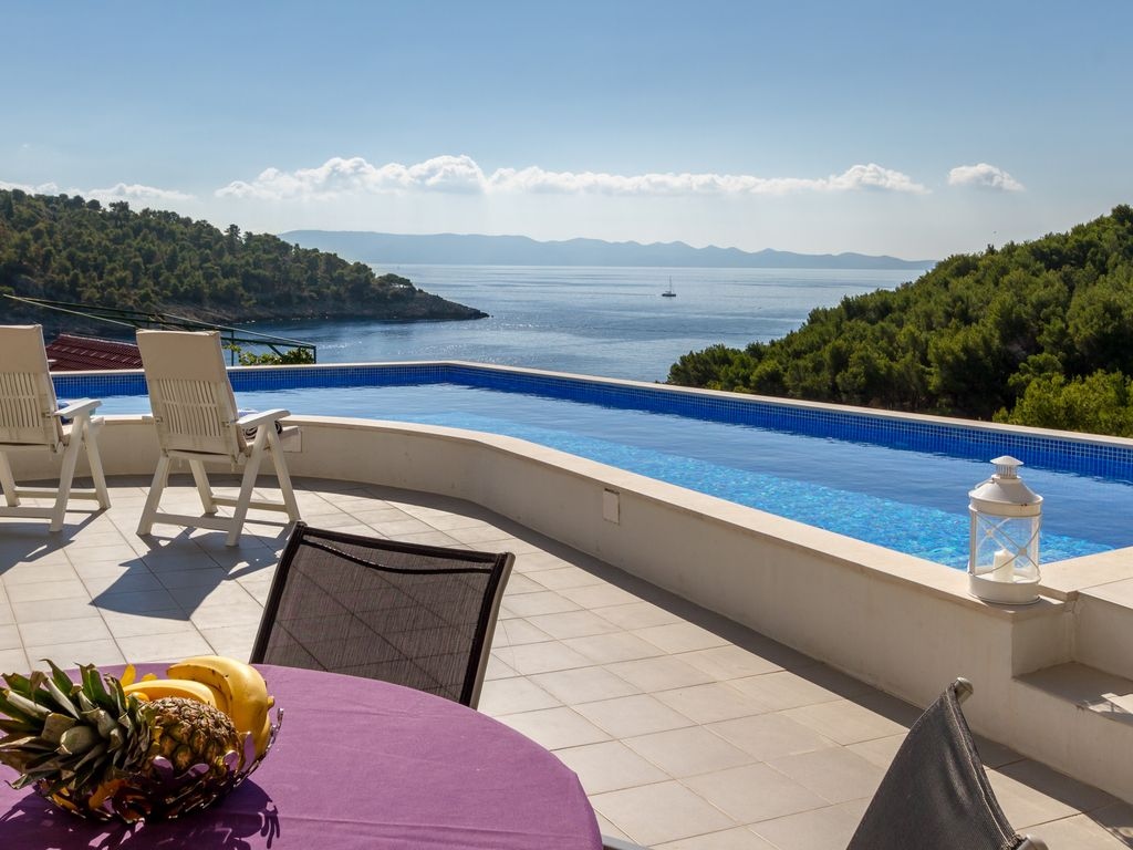 Ferienhaus Kroatien Mit Pool Brac Amazing Beachside Villa With Beautiful Seaviews Milna