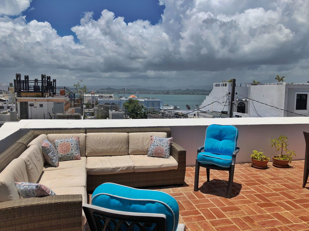 Big Sofa San Juan Old San Juan Pent House With Amazing Terrace Viejo San Juan