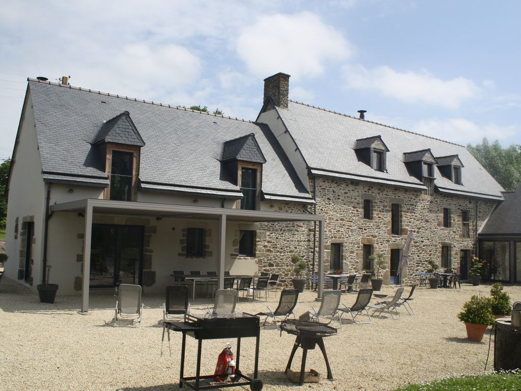 Chambre Hote Dinard Near St Malo Dinard Dinan Mt St Michel 2 To 20 People Gite 3 Bedrooms Pleudihen Sur Rance