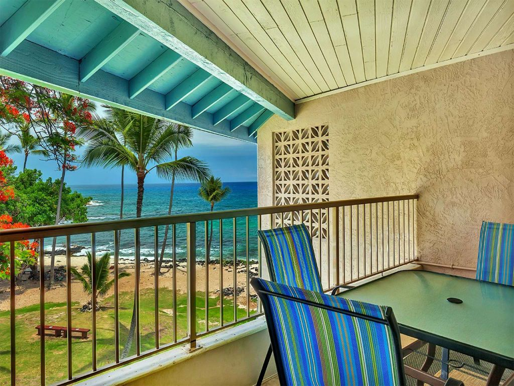 Honis Beach View From Lanai Casual W Ac Kitchen Wifi
