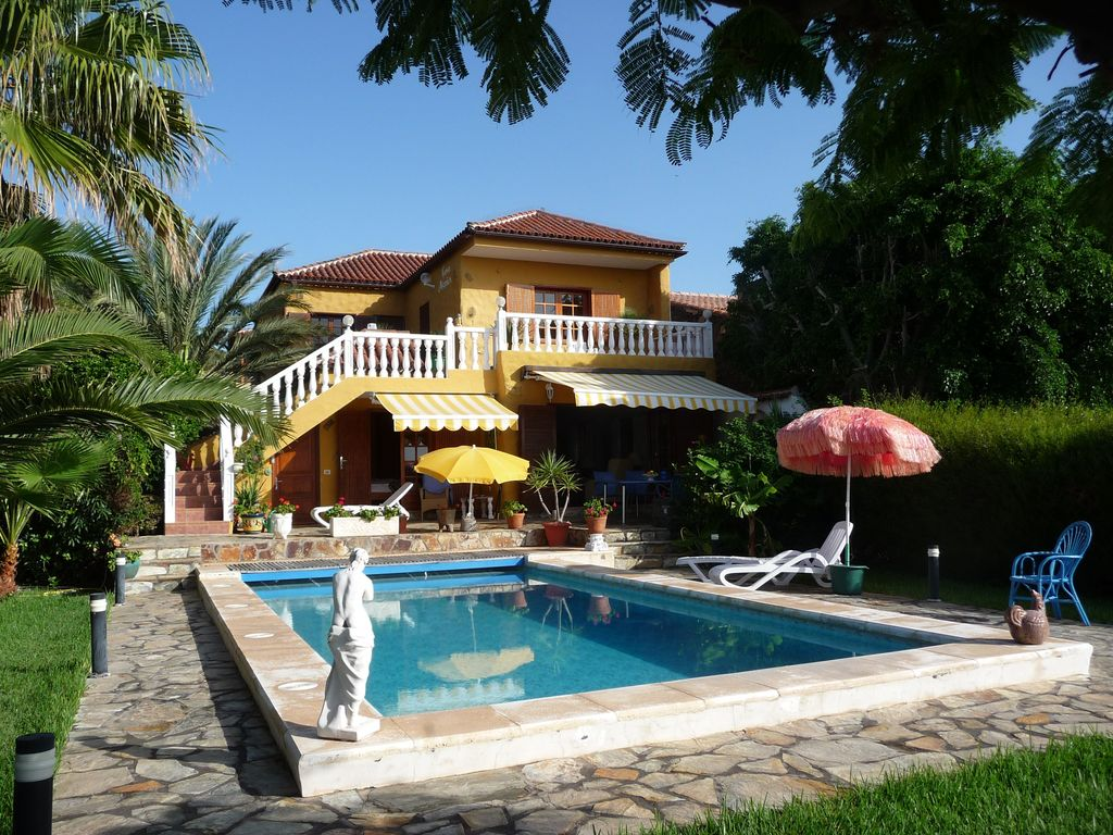 Ferienhaus Mit Pool La Gomera Exclusive Private House In La Gomera Bnb Daily