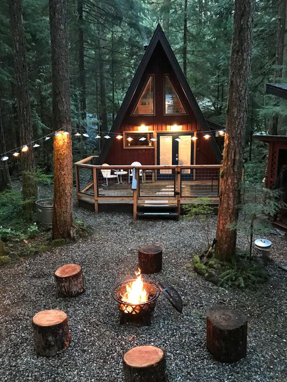 Hotel Gray 70 Rustic 70's A-frame With A Cozy Modern Interior. - Glacier