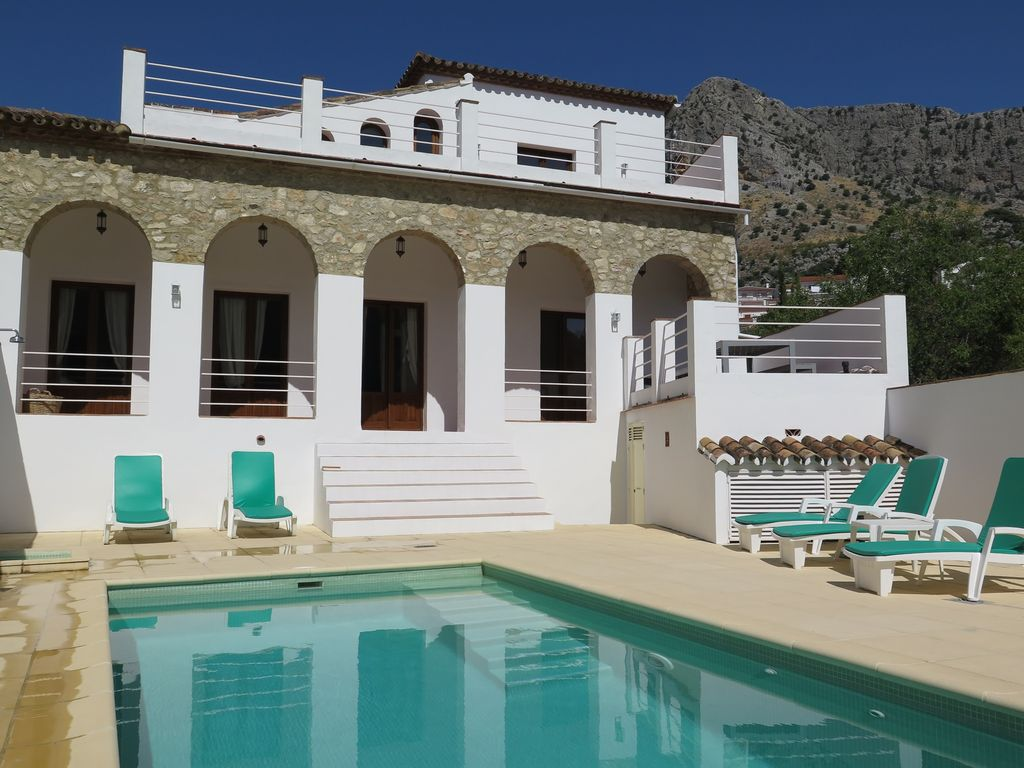 Beauty Zonder Zwembad Luxury Villa With Private Pool In Montejaque Ronda Andalucia Spain Montejaque