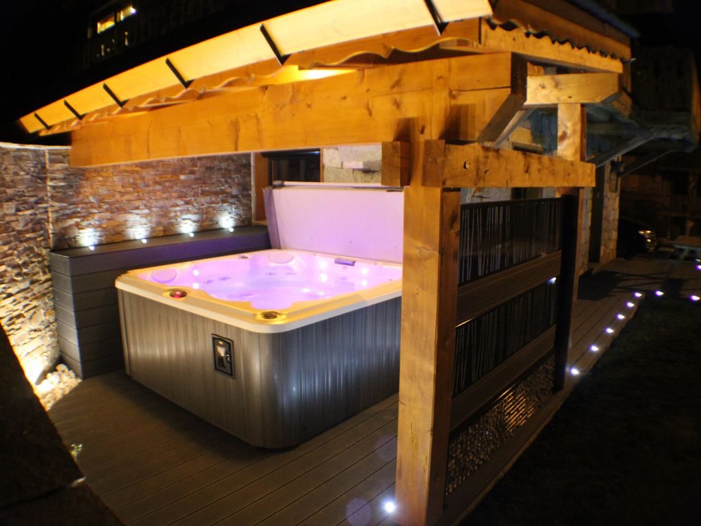 Jacuzzi Gonflable Sur Terrasse Nouvel Appartement Avec Jacuzzi Privatif Cheminee Classe 5