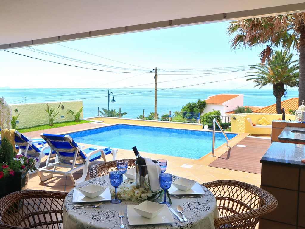 Ferienhaus Mit Pool Madeira Sea View Vila Charming Villa With Swimming Pool Sun Terrace Lovely Views Caniço