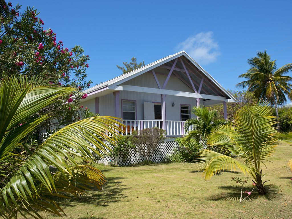 Atlantic Keuken Orchidee Cottage Kleurrijke Bahamian Cottage Stappen Van Atlantic Beach Governor S Harbour