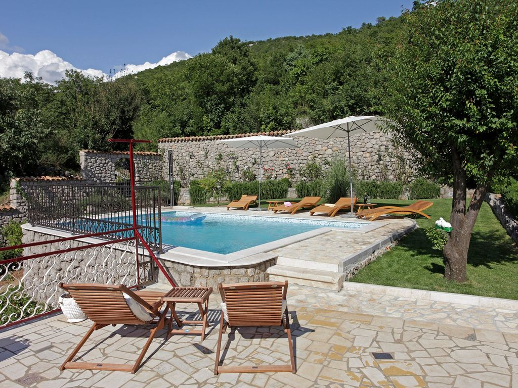 Pool Garten Langenfeld Holiday House With Big Terrace Bbq And Pool Ledenice