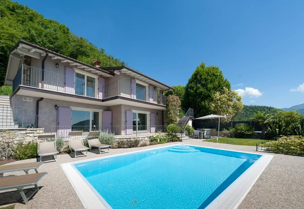 Ferienhaus Gardasee Mit Pool Luxus Villa Sarah - Luxury Lake Garda Villa With Private Headed