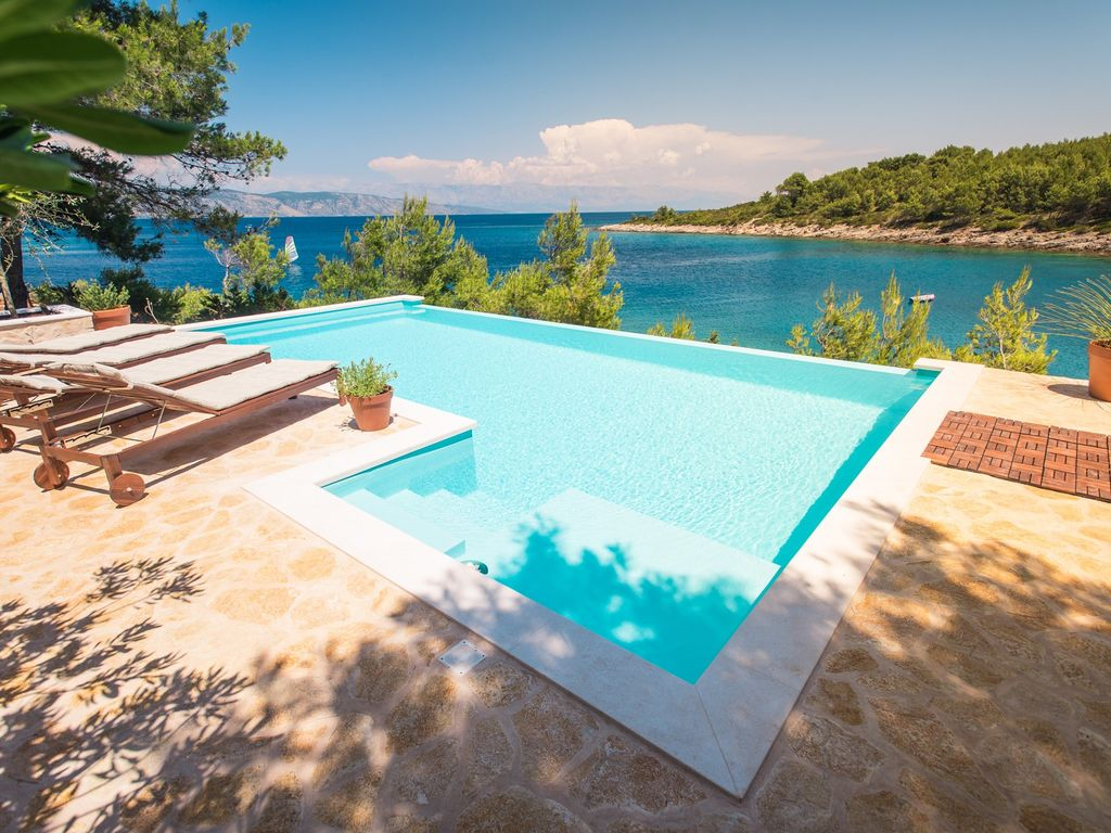 Ferienhaus Mit Pool Obere Adria Luxury Villas In Hvar Croatia Trip101