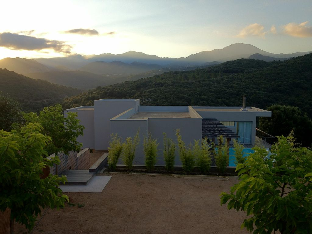 Air Bnb Corse Du Sud Beautiful Contemporary Villa Between Sea And Mountains Ocana
