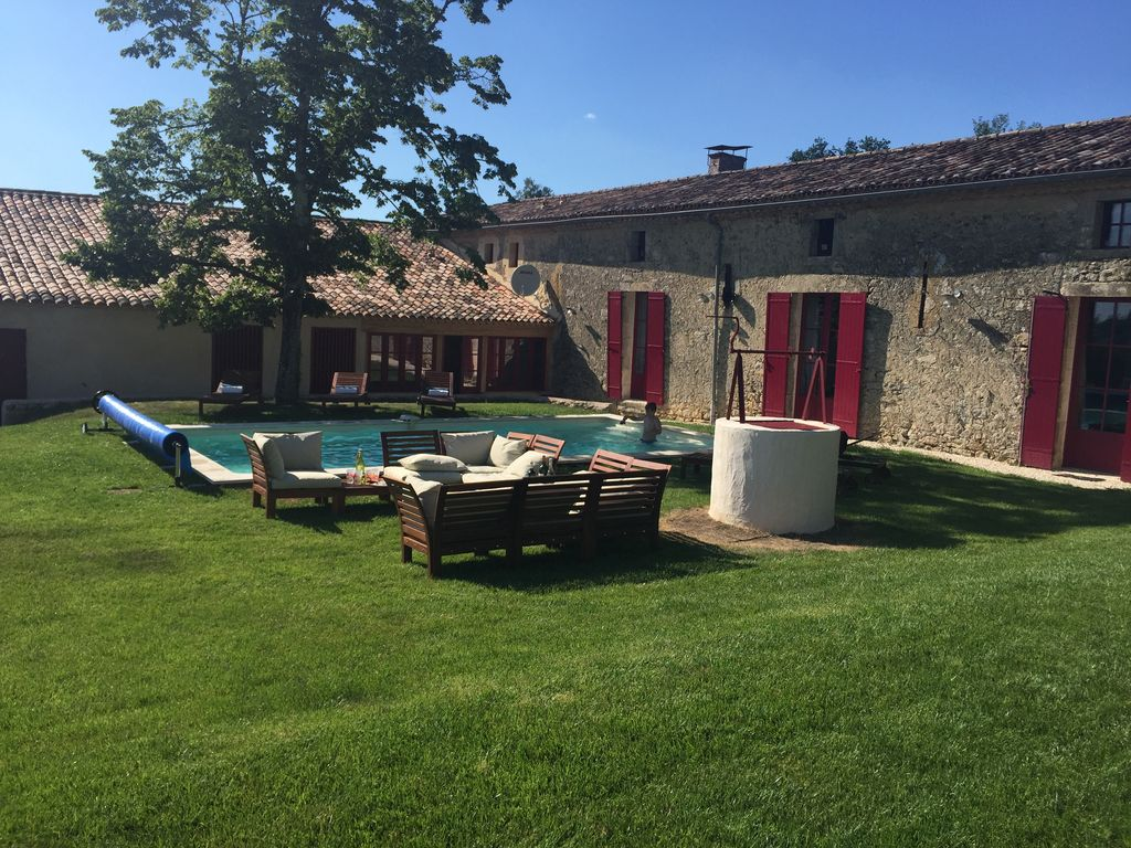 Cheminées Salvador Bordeaux Stunning Vineyard In Bordeaux Countryside With Private Pool Arbis