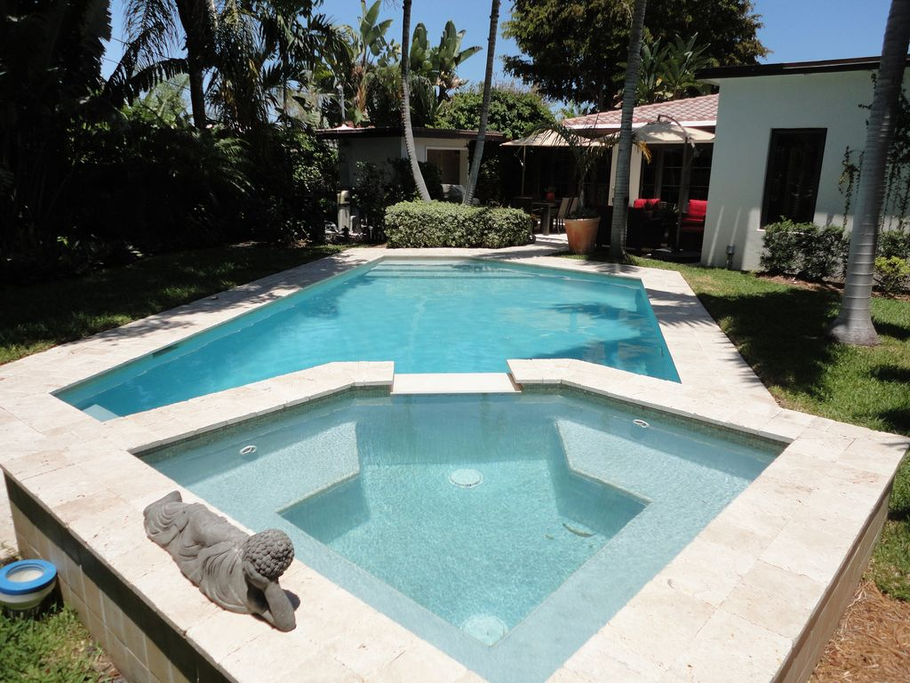 Pool And Jacuzzi Private Updated Oasis With Heated Pool And Hot Tub Vrbo