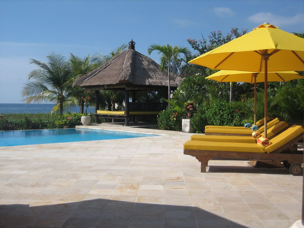 Luxus Outdoor Pool Luxury Beach Villa Directly At Sea Private Pool Incl Staff Cook Next Lovina Lokapaksa
