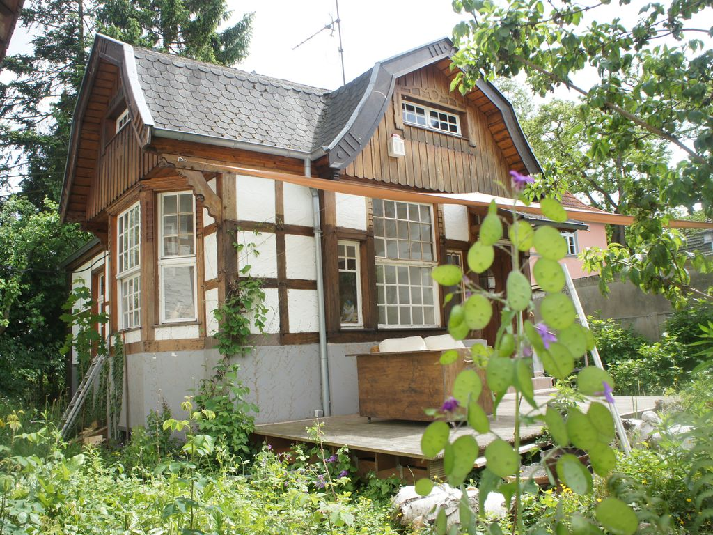 Schönes Bad Godesberg Bright Holiday Home Own Wild Nature Garden Sun Terrace At The Pond Bad Godesberg