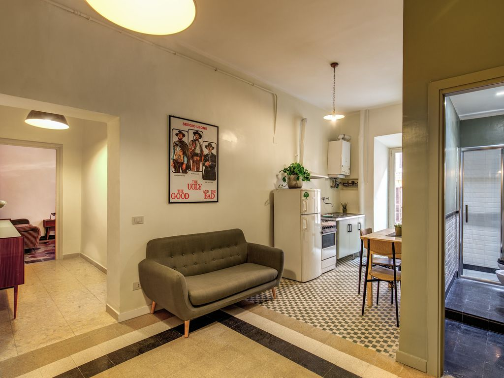 Bad Vintage Style Newly Refurbished Maintaining Original Vintage Style 2bedroom Apartment In The Heart Of Trastevere Trastevere