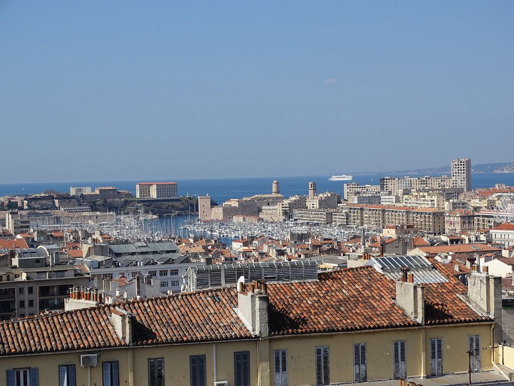 Made In Mediterranee Terrasse Du Port Big Terrace Exceptional View 6th Arrondissement