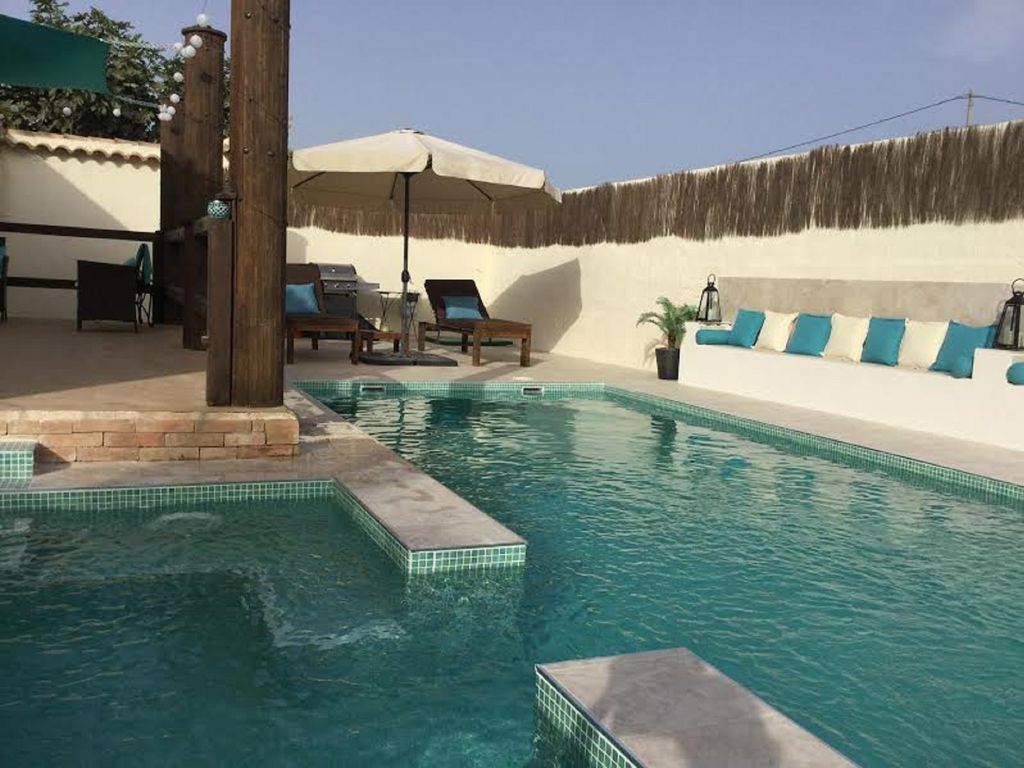 Jacuzzi In The Pool Beautiful Private Villa With Pool And Jacuzzi In An Area Of Tranquility Torre Pacheco