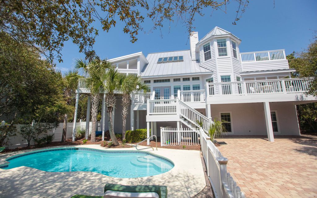 Seacrest Home With Private Pool 100 Steps To Beach With 6