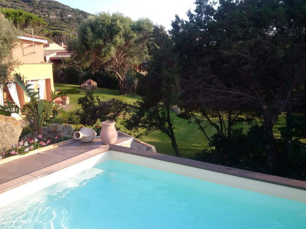 Ferienhaus Mit Pool Villasimius Big Villa Heated Pool And Huge Garden 100mt By The Sea Villasimius